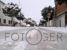 Carretera de La Solana.