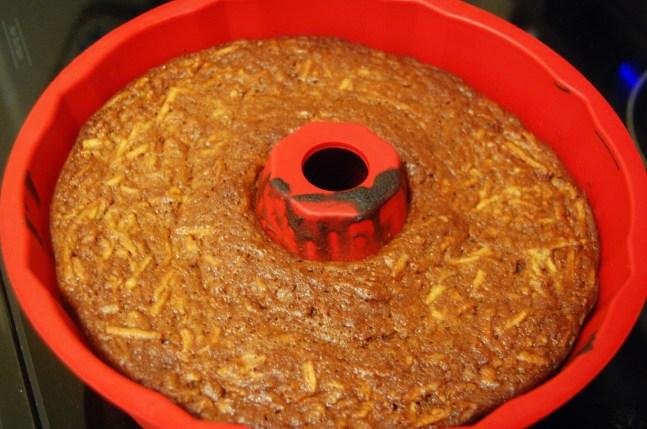 bundt cake is done baking
