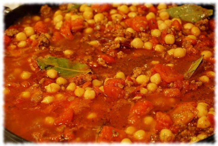 Mieso z pomidorami