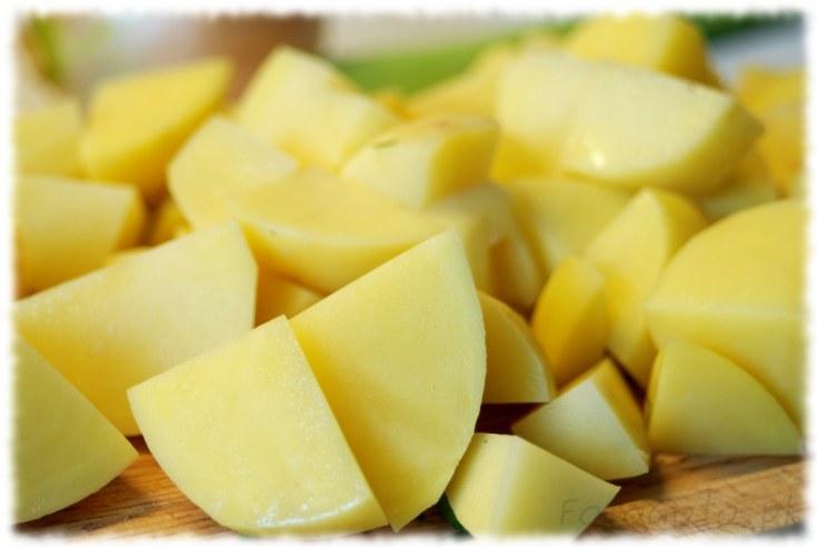 Ziemniaki pokrojone