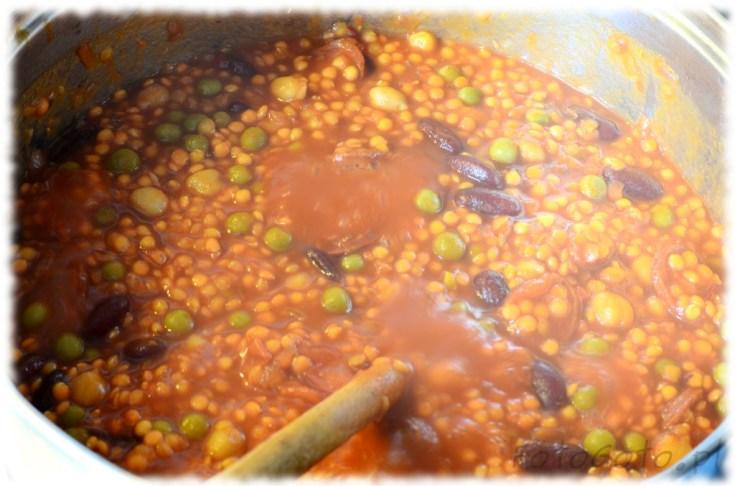 zupa w garze