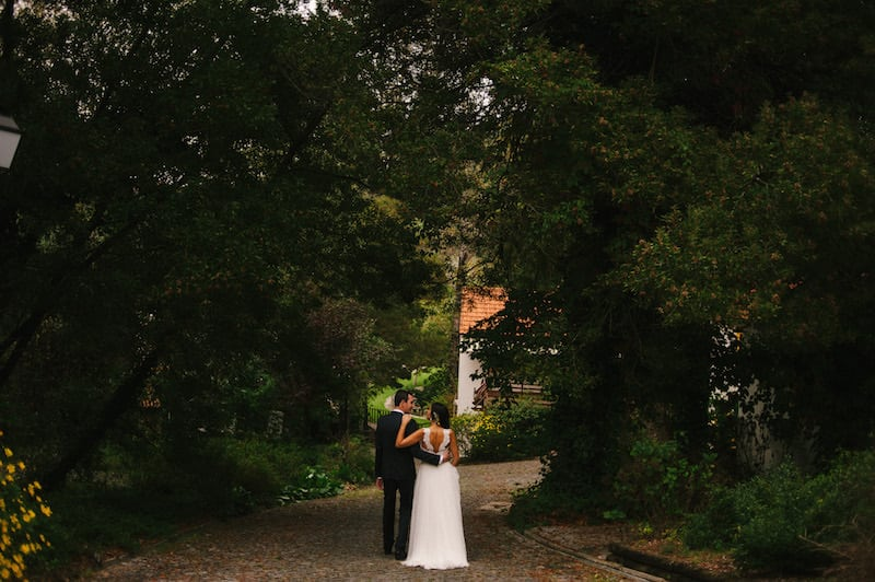 Fotografia de casamento natural