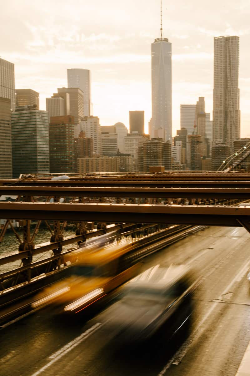 Creative photo of New York city