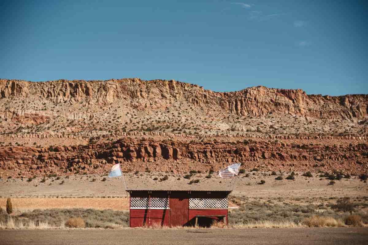 Navajo cabin