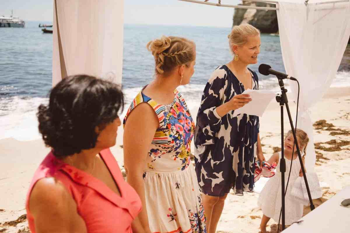 Secret beach wedding Portugal 048