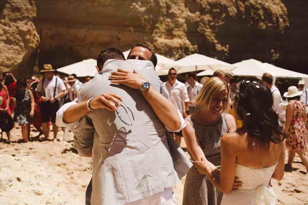 Secret beach wedding Portugal 052