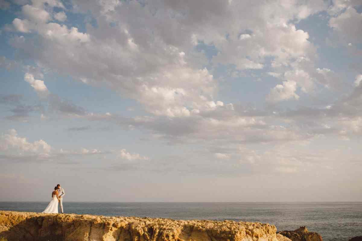 Secret beach wedding Portugal 081