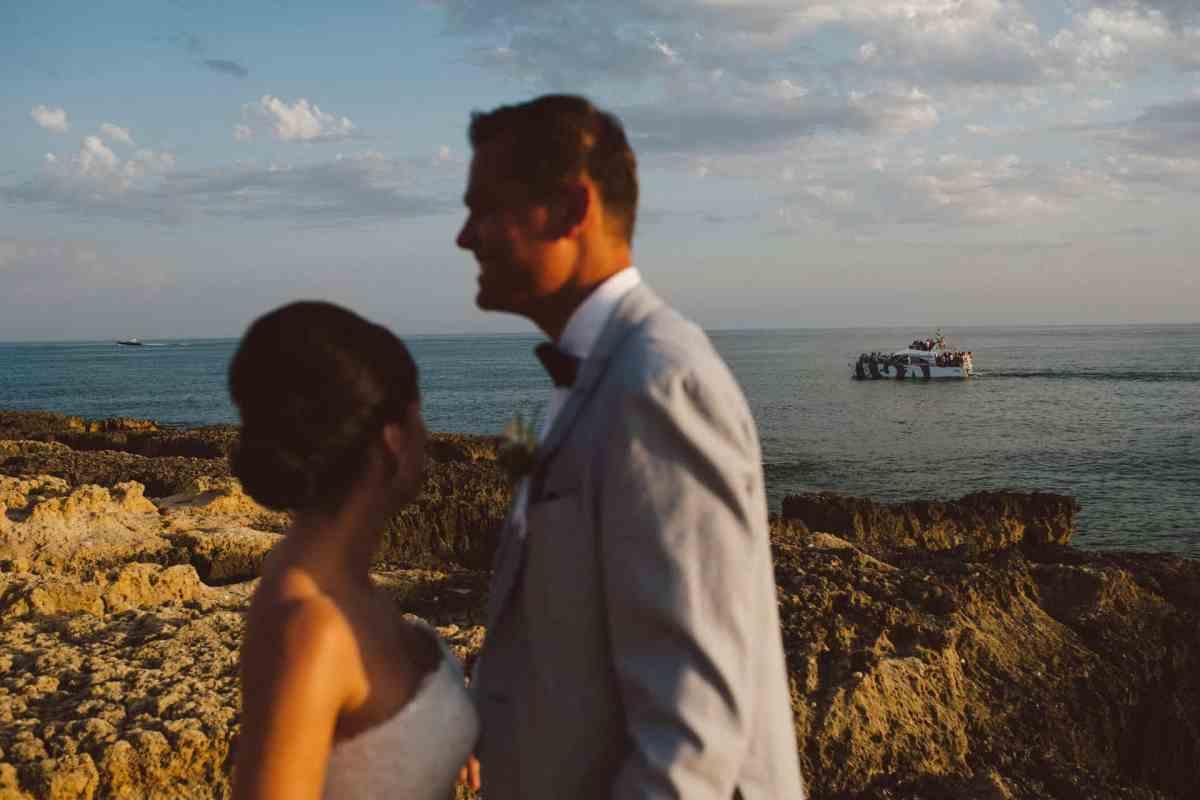 Secret beach wedding Portugal 083