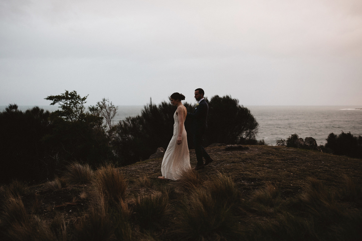 avalon tasmania wedding portraits