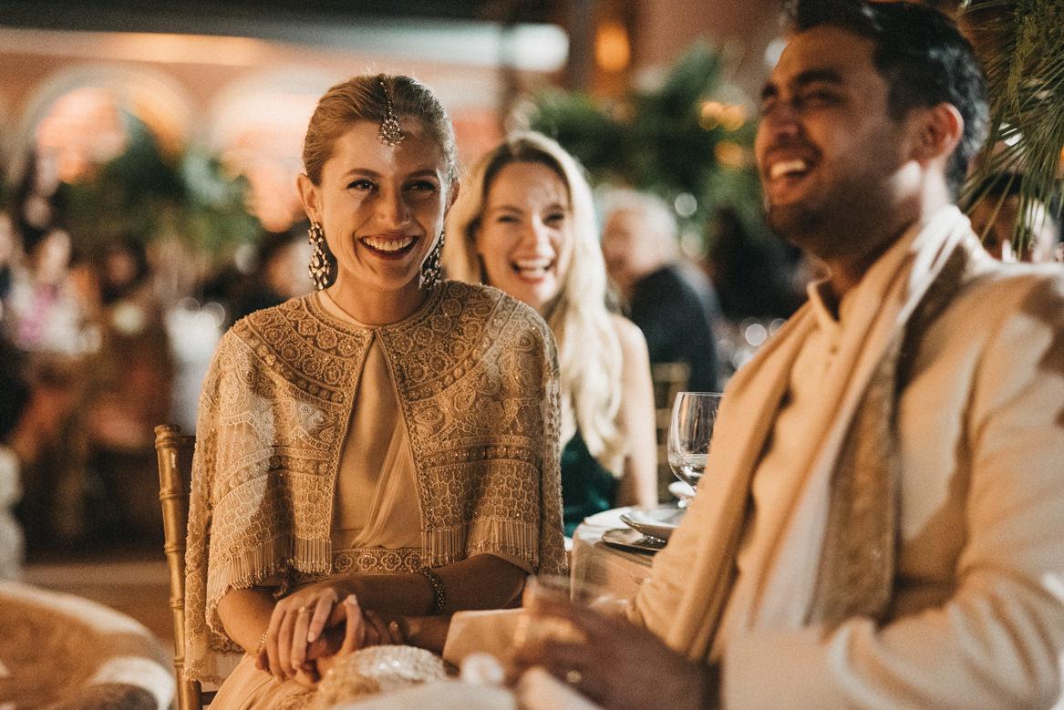 Polish and Indian wedding at Casa dos Penedos