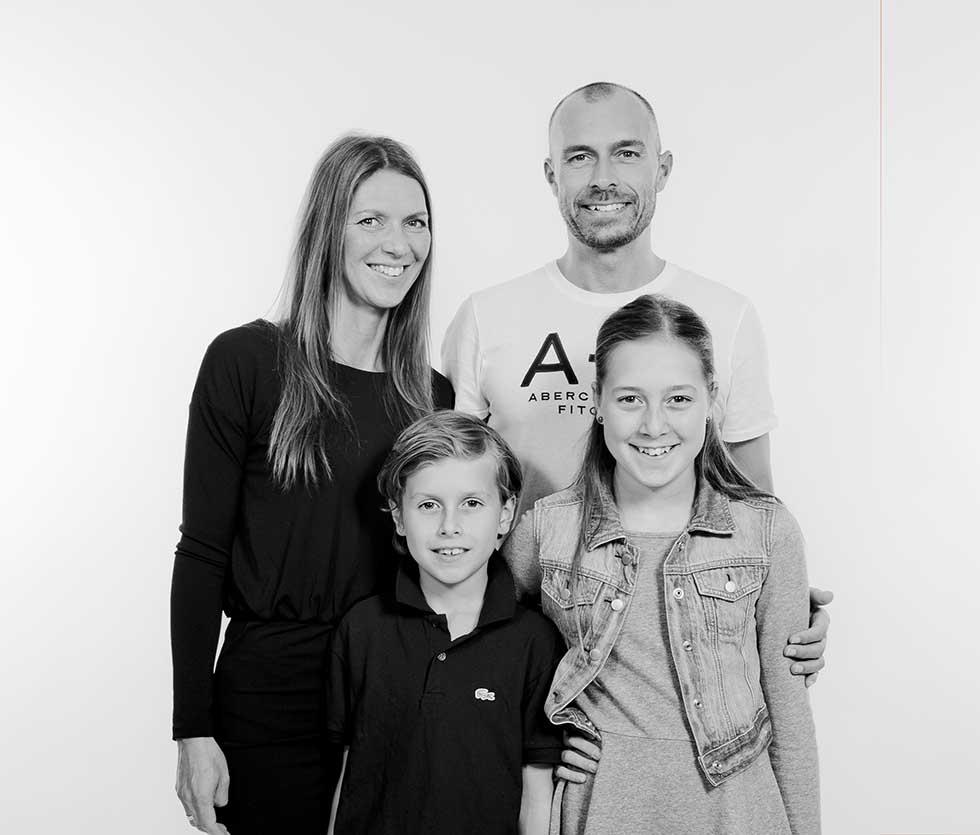 Det er nemt at spå fremtiden for et godt familiefoto
