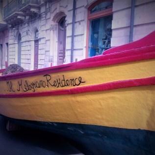 Barca Residence il Melograno in esposizione durante l'inverdurata