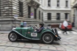 Hans Demyttenaere, Mieke Michiels - MG PB 1935