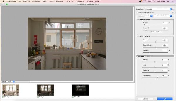 HDR con Photoshop Pro procedimento come fare perfetto