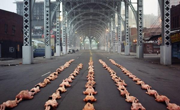 spencer tunick fotografia e performance fotografo americano corpi new york