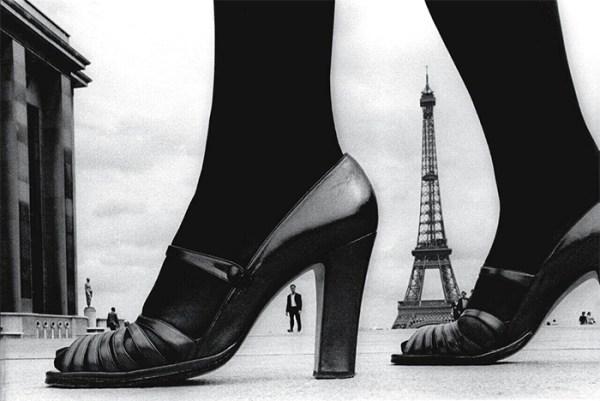 Frank horvat fotografia parigi scarpe