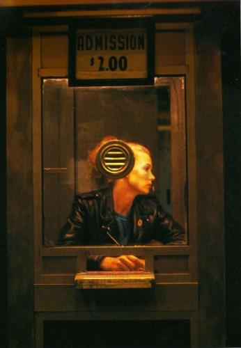 Nan goldin ritratto fotografia diapositiva foto analogica a colori