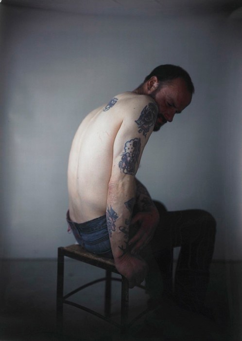 Richard Learoyd fotografo camera oscura procedimento