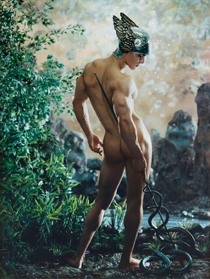 Pierre-et-Gilles Fotografia e pittura Mercurio