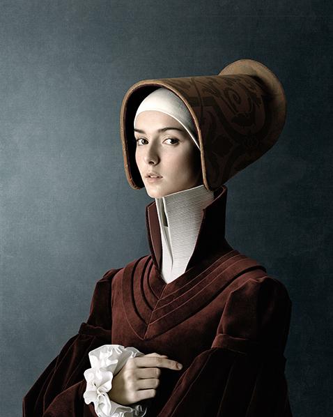 Fotografia Christian Tagliavini ritratto rinascimento