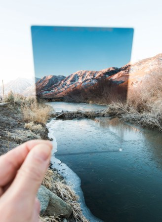 GND filtro per esposizione contrasto di luci