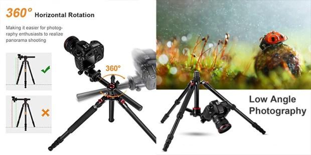 K&F Concept TM2515T treppiede prova e recensione