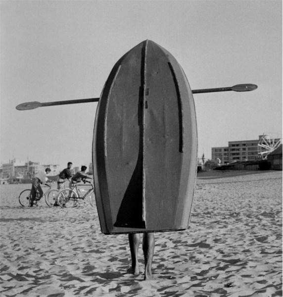 Fifties Surfboard fotografia Jürgen Schadeberg