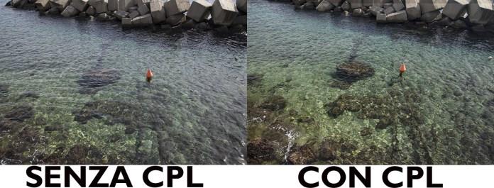 filtro polarizzatore cpl K&F prova