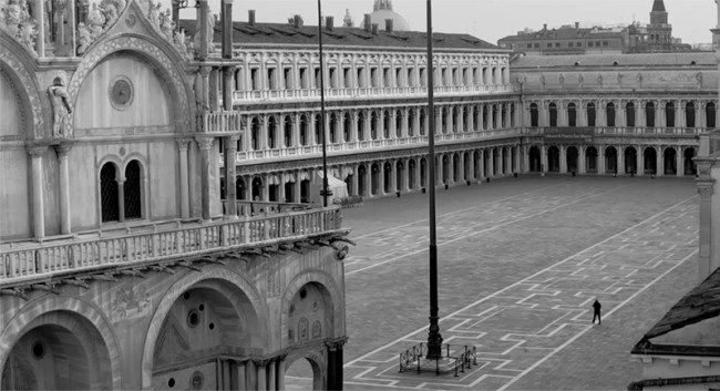 citta vuote fotografia di webcam venezia piazza san marco