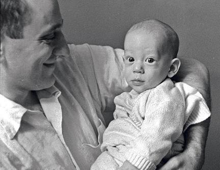 foto originale del figlio di Russel Kirsch prima di essere scannerizzata