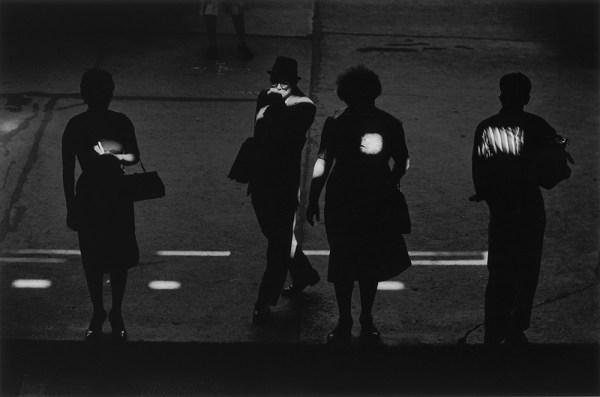 Kenneth Josephson foto strada bianco e nero persone