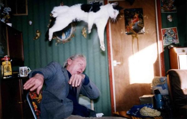 RichardBillingham fotografia gatto che vola fotografo inglese alcolismo