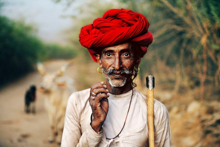 Rajasthani with the red turban