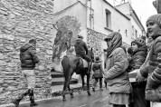Rotondella (MT) Un gruppo di cavalieri provenienti da Pisticci (MT