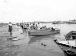 Actividad pesquera en Puerto Pizarro, Tumbes, Perú