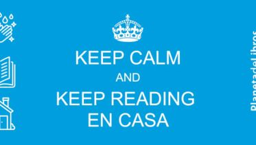 Keep calm and keep reading en casa