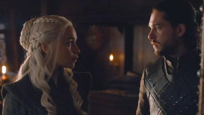 Resultado de imagen para jon  y daenerys