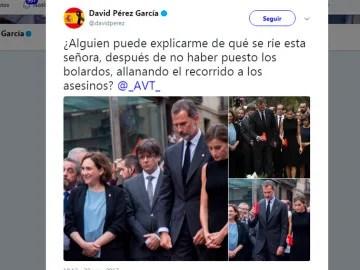 Image result for fotos ada colau riendo atentado