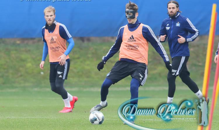 2.Liga: HSV Training im Volkspark #hsv