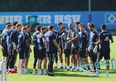 2.Liga: HSV Training im Volkspark #hsv