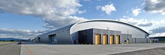 Bundeswehr Flugzeug Hangar Fritzlar