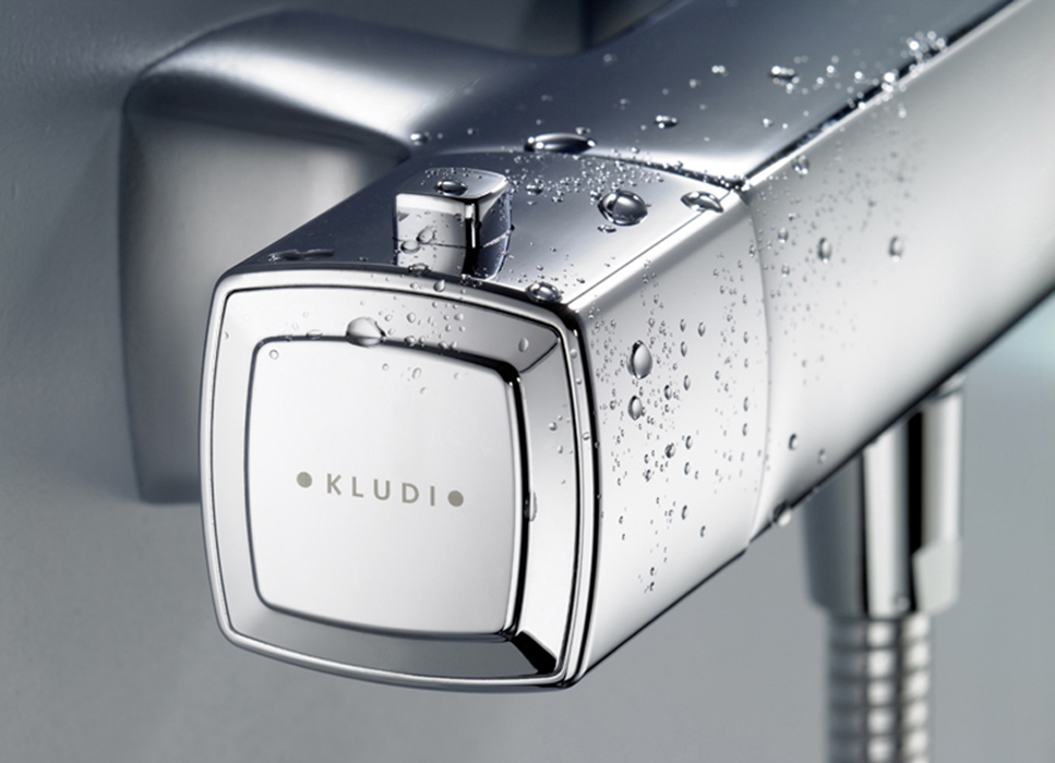 Q-beo Detail-Duschthermostat Griff Kludi