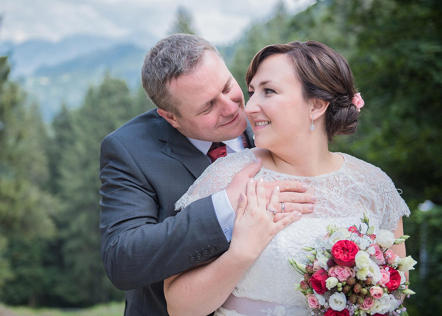 Eine Romantische Berghochzeit Auf Der Millrutte Maria Luise