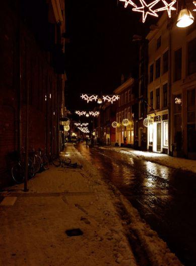 Lange Hofstraat Zutphen vrijdag 13-1-2017