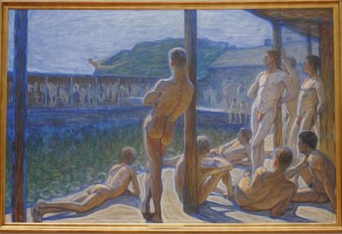 Jansson, Eugène (1862 -1915) Flottans badhus (1907)