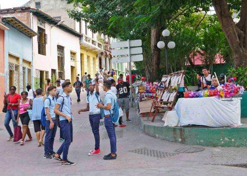 Oberstufenschüler, Santiago de Cuba