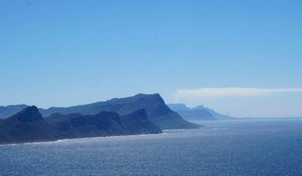 Küstenlinie in Südafrika