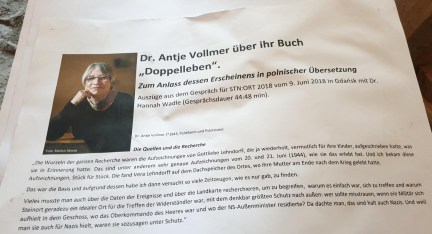 Antje Vollmer: Doppelleben