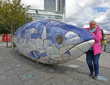 Barbara and the big fish