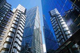 Lloyds Building mit Reflektion